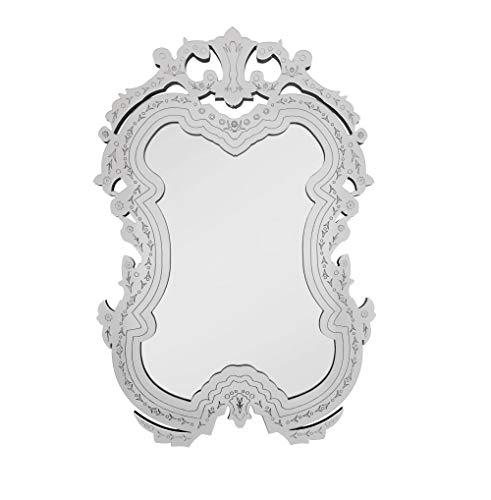 Quadro Espelho Decorativo Veneziano Sala Quarto 3888