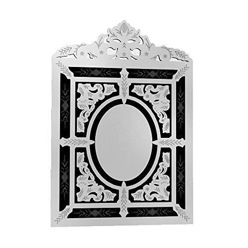 Quadro Espelho Decorativo Veneziano Sala Quarto 3894
