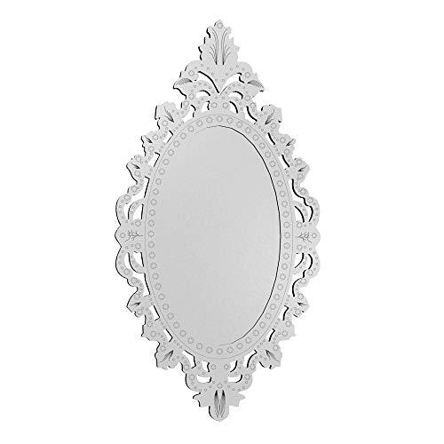 Quadro Espelho Veneziano Decorativo Sala Quarto 48x90 3898