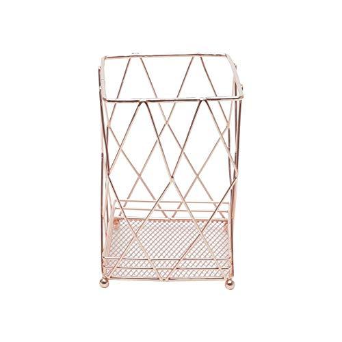 Suporte P/talheres De Ferro Cromado Rosé 10x15cm Lyor Rosé No Voltagev