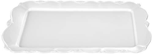 Travessa De Porcelana Retangular Fancy 35,5x22x2,5cm Wolff Fancy Única No Voltagev