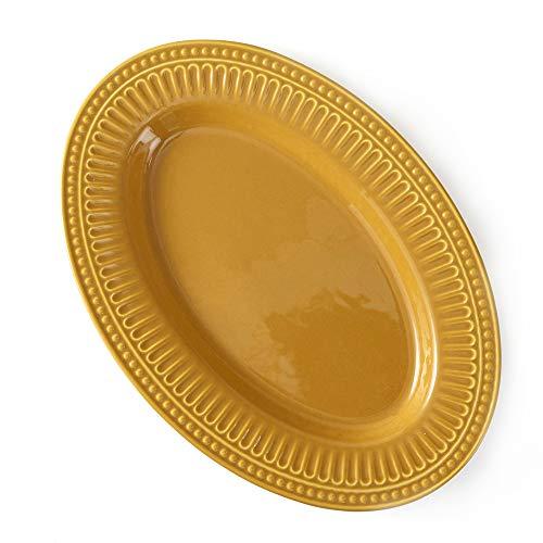 Travessa Oval Acervo Panelinha Curry