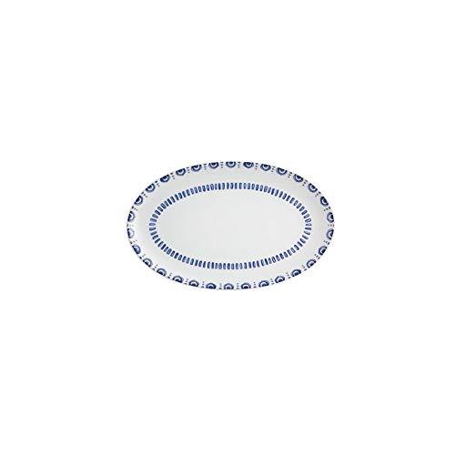 Travessa Oval Vista Alegre modelo Azure Lux 25 x 16 cm