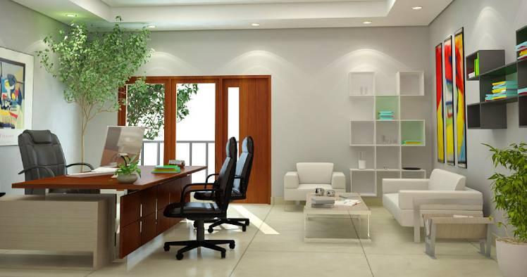 Espaços decorativos para clínica estética