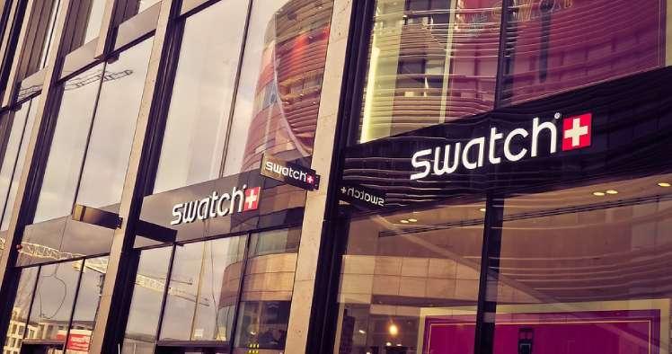As lojas da Swatch são sucesso na mescla do marketing com design de interiores