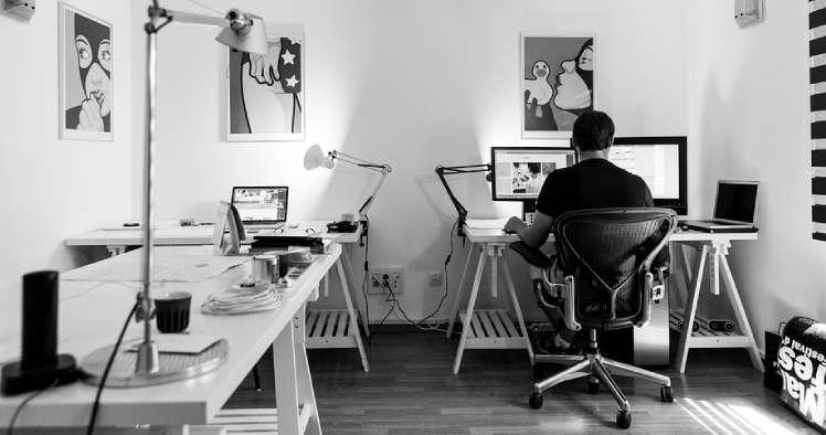 Montar escritório para trabalhar em casa tipo home office