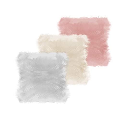 Kit Com 3 Capas Para Almofadas Multicolorido 008 Belchior Uniq Colorido