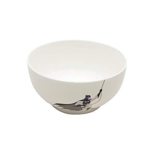 Justice League Bowl Porcelana Urban, Branco 400Ml