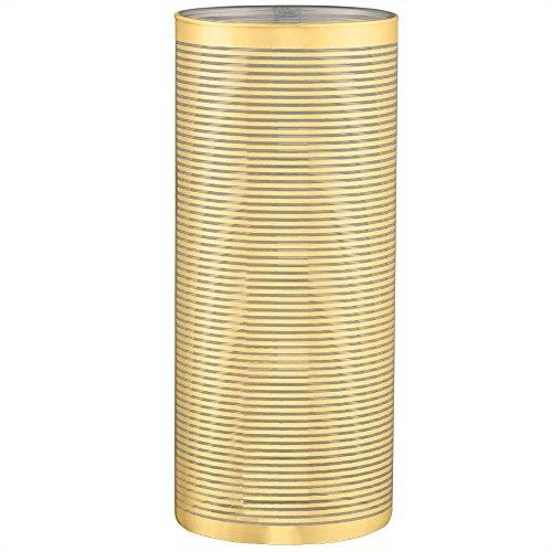 Mart Vaso em Vidro Dourado