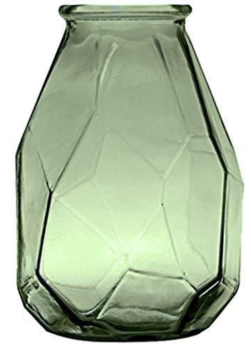 Vaso de Vidro Origami San Miguel Verde