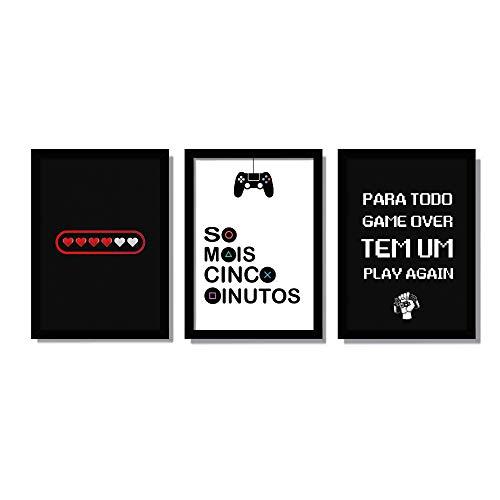 Quadros Geek Gamer Decorativos Para Quarto
